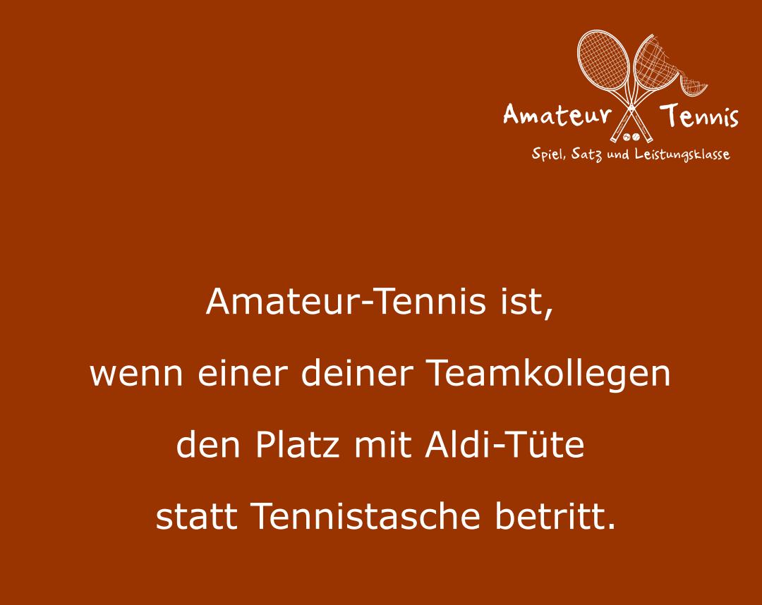 Tennistasche der Marke ALDI