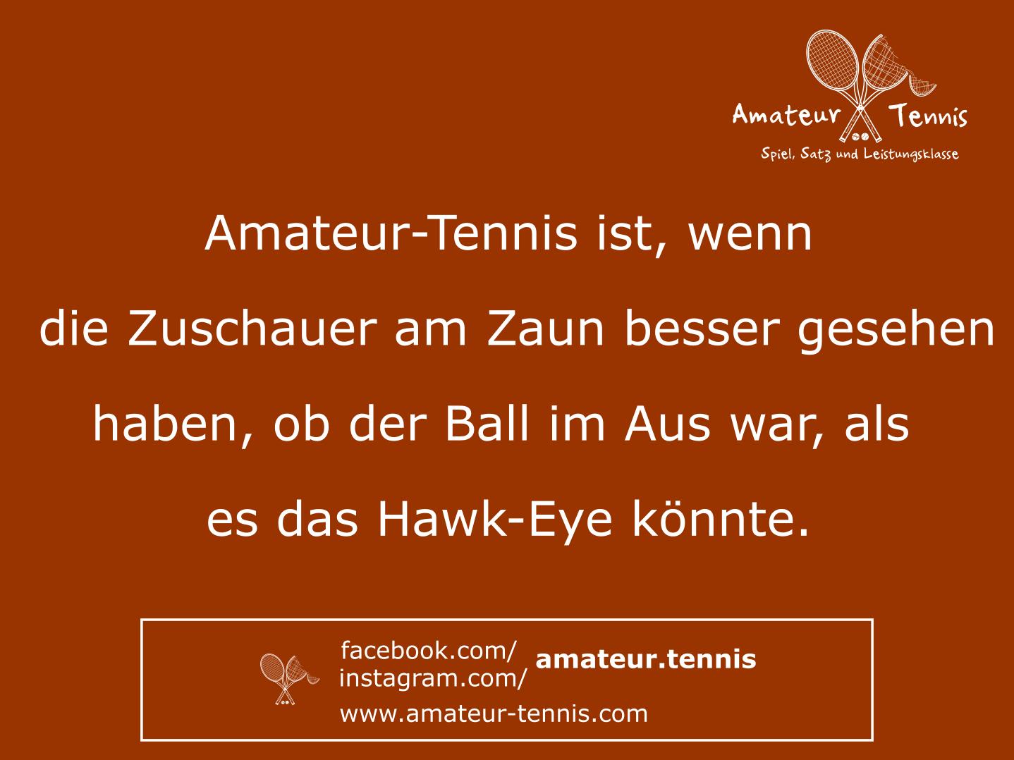 Zuschauer statt Hawk-Eye