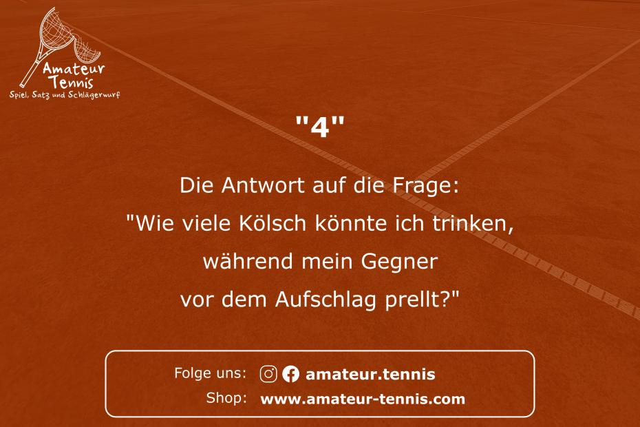 Kölsch - Tennis